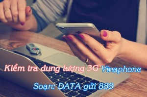 Cách kiểm tra dung lượng 3G Vinaphone ở tốc độ cao