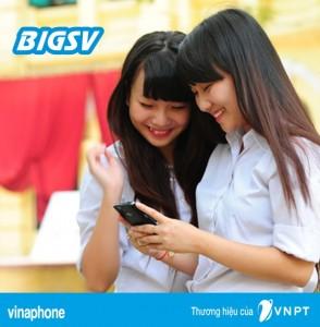 Đăng ký gói cước 3G BIGSV Vinaphone, nhận 3GB/ tháng chỉ với 50,000đ
